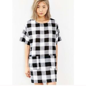 Anthropologie Cooperative Check Me Out Dress Small